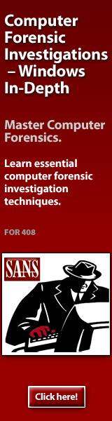 Forensics 408