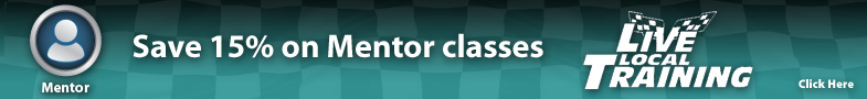 Save 15% on Mentor classes