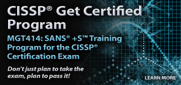 CISSP Get Certified Program
