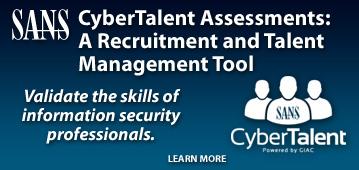 CyberTalent Assessments