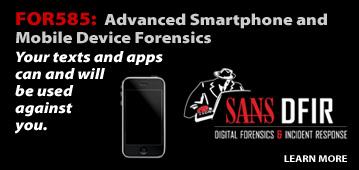 Forensics 585