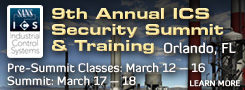 9th Annual ICS Security Summit and Training