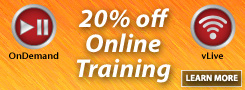 20% off Online Training