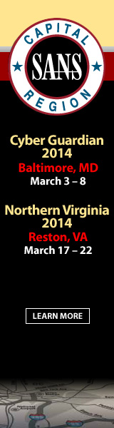 Capital Region 2014 - Baltimore and Reston