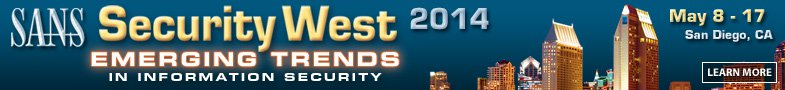 Security West 2014 - San Diego