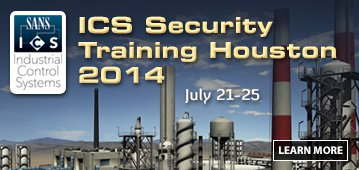 ICS Security Training Houston 2014