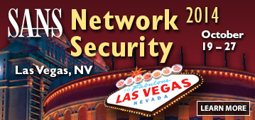 Network Security 2014 - Las Vegas