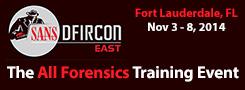 DFIRCON East 2014 - Fort Lauderdale