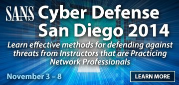 Cyber Defense San Diego 2014