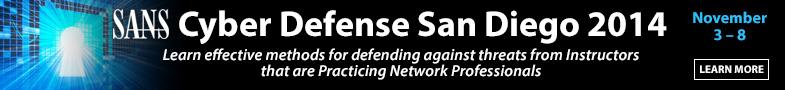 Cyber Defense San Diego 2014