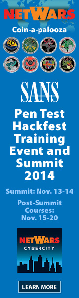 Pen Test Hackfest - Washington