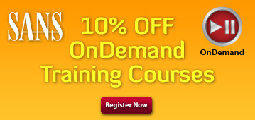 10% OFF OnDemand Training Courses