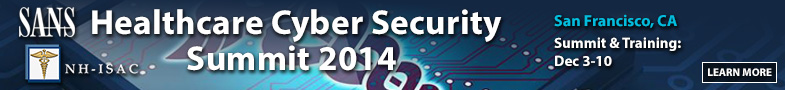 Healthcare Cyber Security Summit - San Francisco