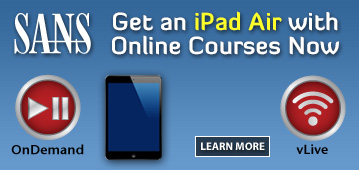 Get an iPad Air with Online Courses Now