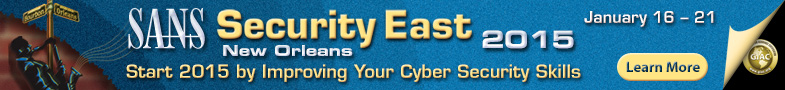 Security East 2015 - New Orleans