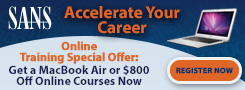 Get a MacBook Air or $800 OFF Online Training