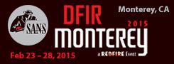 DFIR Monterey 2015