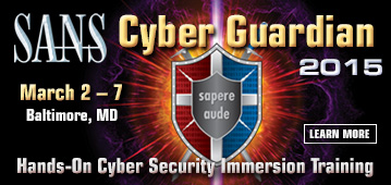Cyber Guardian 2015 - Baltimore