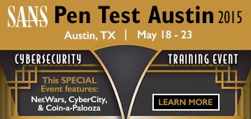 Pen Test Austin 2015