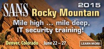 Rocky Mountain 2015 - Denver