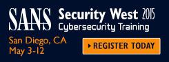 Security West 2015 - San Diego