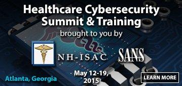 Healthcare Cybersecurity Summit 2015 - Atlanta