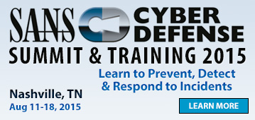 Cyber Defense Summit & Training - Nashville