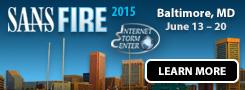SANSFIRE 2015 - Baltimore