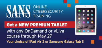 Get a Tablet with Online Training
