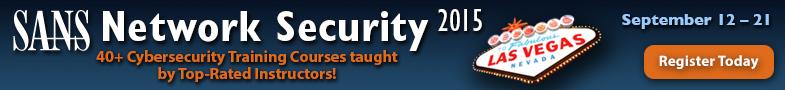 Network Security 2015 - Las Vegas