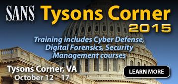 Tysons Corner 2015