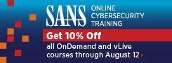 10% off Online Training