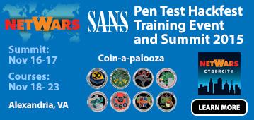 Pen Test Hackfest Summit & Training - Alexandria