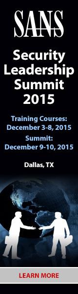 Security Leadership Summit - Dallas