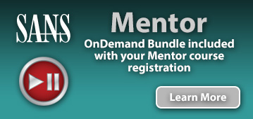 OnDemand Bundle included with Mentor course