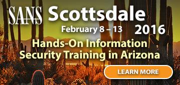 Scottsdale 2016