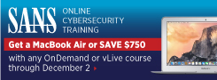 Get a MacBook Air with Online Training