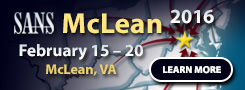 McLean 2016 - McLean, VA