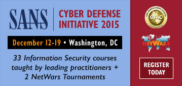 CDI 2015 - Washington