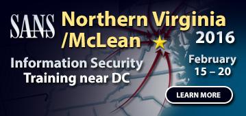 Northern Virginia/McLean 2016