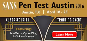 Pen Test Austin 2016