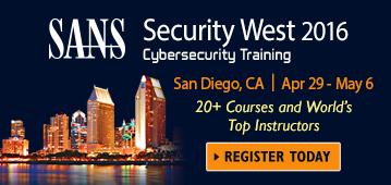 Security West 2016 - San Diego