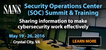 SOC Summit & Training - Crystal City