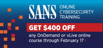 Get $400 off Online Training