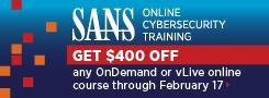 Get $400 off Online Training