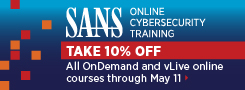Take 10% off Online Training