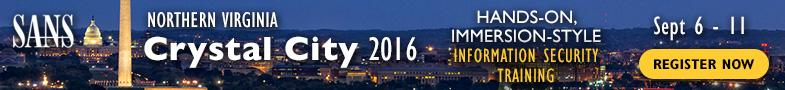 Northern Virginia - Crystal City 2016