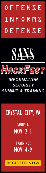 Pen Test Hackfest 2016 - Crystal City