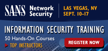 Network Security 2016 - Las Vegas