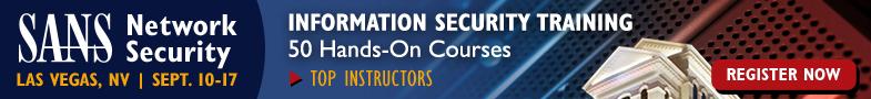 Network Security 2016 - Las Vegas